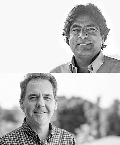 Roberto Linhares e David Herbert